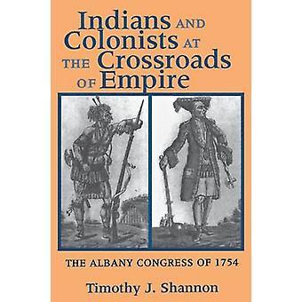 Indianerne og kolonister ved krysningen mellom Empire - Albany Congres