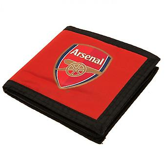 Arsenal FC Canvas Touch Fastening Wallet