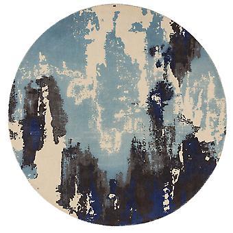 Saturnus cirkel tapijten In blauw