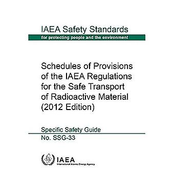 Schedules of provisions of the IAEA regulations for the safe transport of radioactive material: specific safety guide (IAEA� safety standards series)