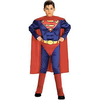 Kostium Supermana mięśni dziecka