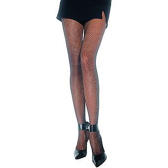 Mesh Pantyhose Black Plus Size