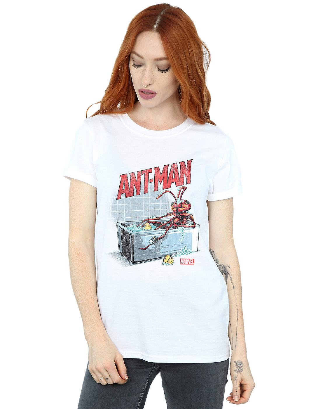 Marvel Women's Ant-Man And The Wasp Bathing Ant Boyfriend Fit T-Shirt