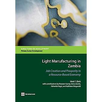 Light Manufacturing in Zambia by Dinh & Hinh T.