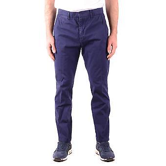 Mcq Door Alexander Mcqueen Ezbc053059 Men's Blue Cotton Pants