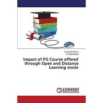 Impacto del curso de PG a través de modo abierto y a distancia por Suresh Verma R.