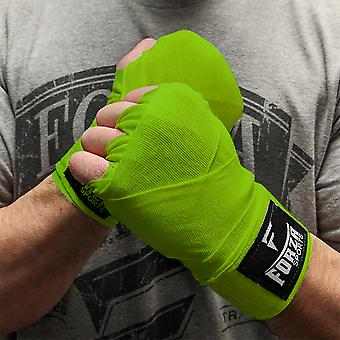 """Forza Sports 120"""" Mexican Style Boxing and MMA Handwraps - Lime Green"""