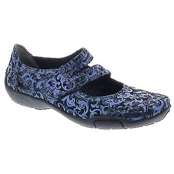 Ros Hommerson Womens Chelsea Leather Round Toe Slide Flats