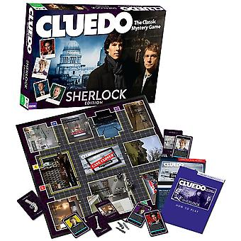 Cluedo Sherlock Edition Family Board Game - 3 to 6 Players