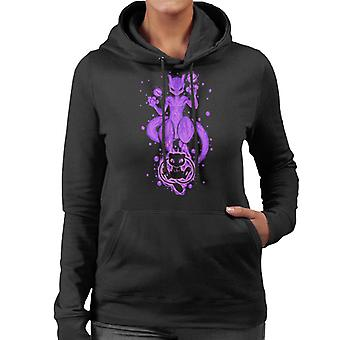 The DNA Within Mew Mewtwo Women's Hooded Sweatshirt