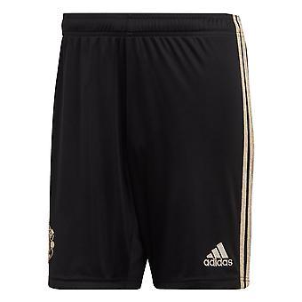 Adidas Manchester United 2019/20 miesten pois jalka pallo lyhyt musta