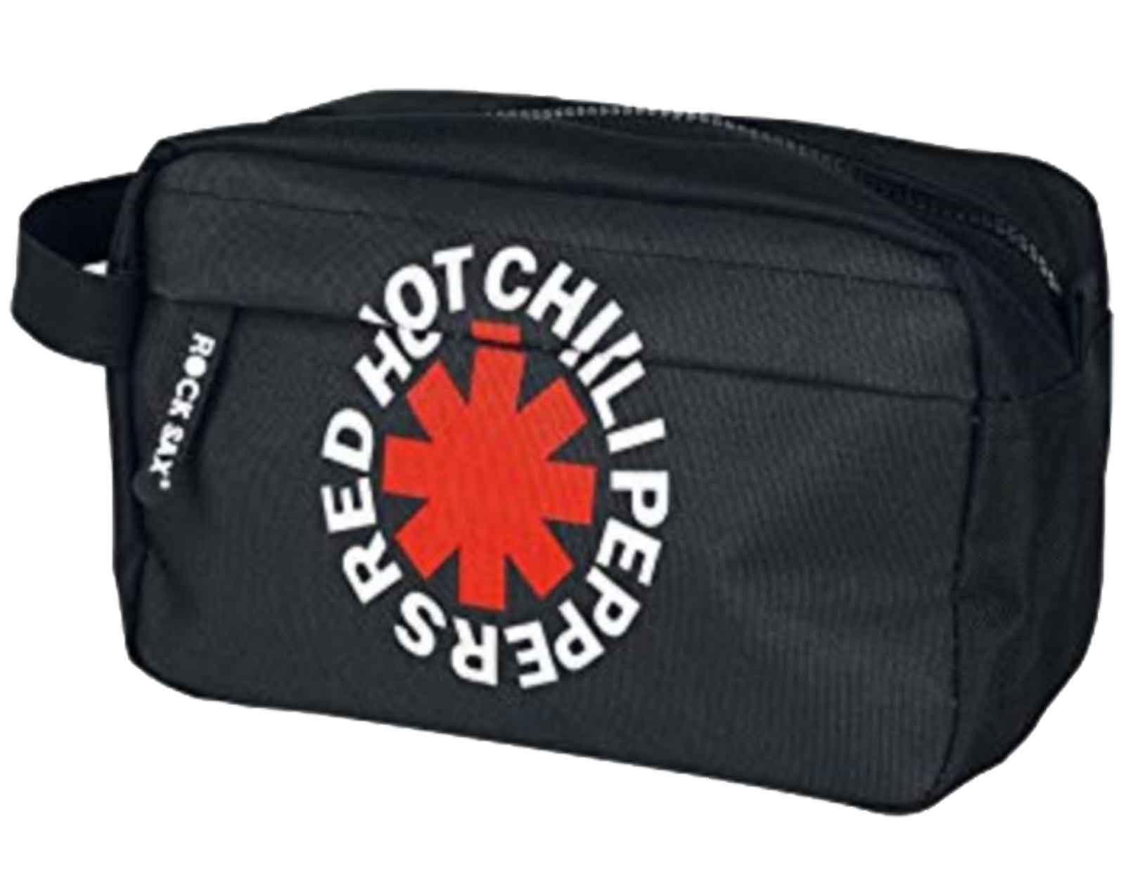 Red Hot Chili Peppers tvätta väska Asterix band logo nya officiella svart