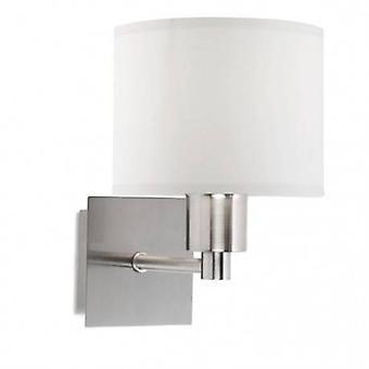 1 Light Indoor Wall Light Satin Nickel