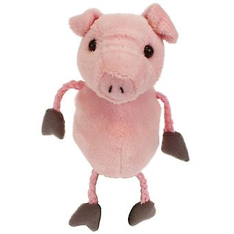 Finger Puppet - Pig New Soft Doll Plush PC020212