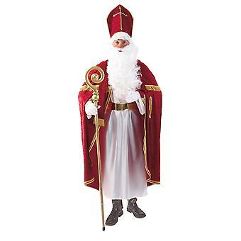 Bischofsrobe Bischof Tunika Kirchenmann Bischofkostüm Kostüm für Herren