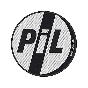 PiL Public image Ltd sy-på klud patch 90mm runde (RZ)