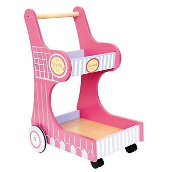 Legler indkøbsvogn isa (babyer og børn, legetøj, Home og erhverv)