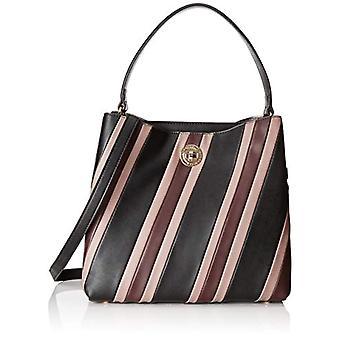 L.Credi 2315 Black Woman shoulder bag (Schwarz/combi 001)) 15x285x30 cm (B x H x T)