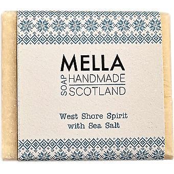 West Shore Spirit Salt bar-Mella handmade sabonetes Shetland