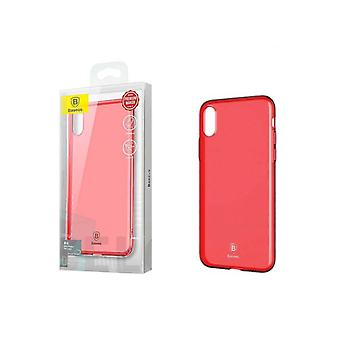 Ultra Slim TPU Case iPhone X - Xs Tr. Red