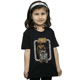 Star Wars Girls R2-D2 And C-3PO Vintage T-Shirt
