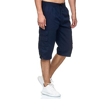 Men's Cargo Shorts 3/4 Leisure Pants Trekking Trousers Lightweight Fabric Casual