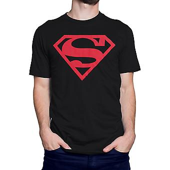 Superboy camiseta de símbolo rojo