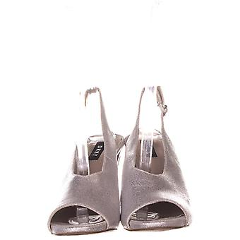 DKNY Womens Col Peep Toe Sanda Leather Open Toe SlingBack Mary Jane Pumps