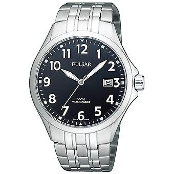 Pulsar business Quartz Analog Man Watch with PS9093X1 Stainless Steel Bracelet