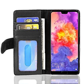 Cadorabo case for Huawei P20 PRO case case cover - phone case with magnetic clasp and 3 card pockets – Case Cover Protective Case Case Book Folding Style