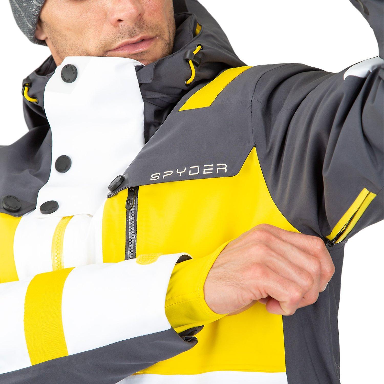 Spyder TORDRILLO Herren Gore-Tex Primaloft Ski Jacke weiß