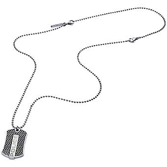 Police Men's Stainless Steel Pendant Necklace PJ.26387PSS-01