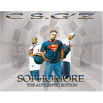 Csg'Z - Sophomore [CD] USA import