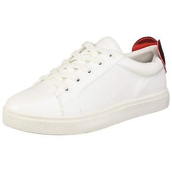 Betsey Johnson Womens Tilly Leather Low Top Lace Up Fashion Sneakers