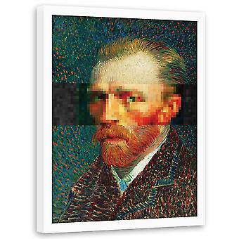 Picture In Black Frame, Van Gogh Portrait