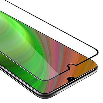 Cadorabo folha de tanque de tela cheia para Samsung Galaxy A70-vidro temperado display de proteção em 9H dureza com compatibilidade de toque 3D