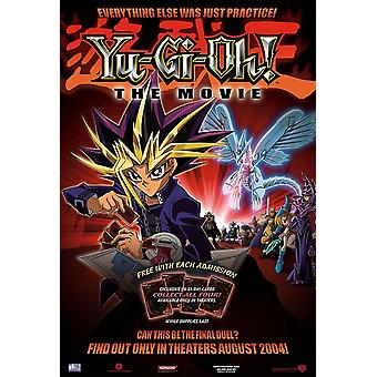 Yu-Gi-Oh Original Movie Poster - Double Sided Advance