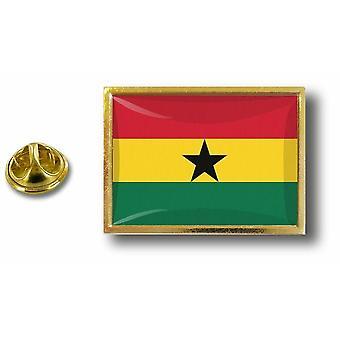 Pins Pin Badge Pin's Metal  Avec Pince Papillon Drapeau Ghana Ghaneen