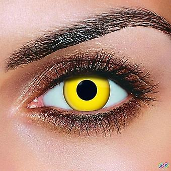 Yellow Contact lenses (Pair)