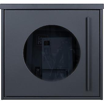 MOCAVI Box 105G Design boîte aux lettres anthracite-gris (RAL 7016) avec fenêtre d'observation