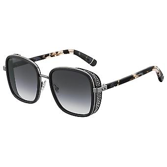 Jimmy Choo Elva/S 807/9O Black/Dark Grey Gradient Sunglasses