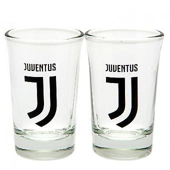 Juventus FC Shot Glass Set (Pack Of 2)