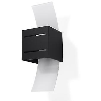 Sollux LORETO 1 lys væg lys sort SL. 0201
