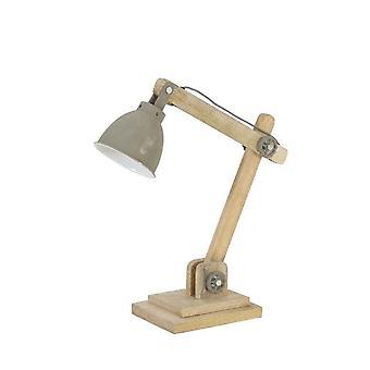 Light & Living Desk Lamp 50x15x45 Cm ELMER Wood Natural+cement