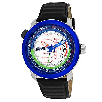 Jean Paul Gaultier Men's Cockpit White Dial Watch - 8504902