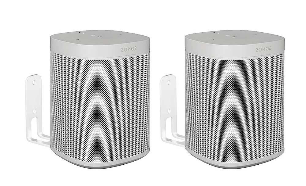 Vebos wall mount Sonos One SL white set