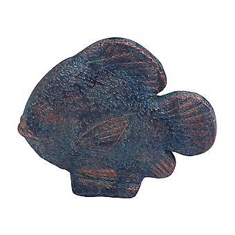 Duurzame keramische vis met Feng Shui kracht en robuuste look