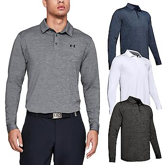 Under Armour Mens Long Sleeve Playoff 2.0 Camisa Polo
