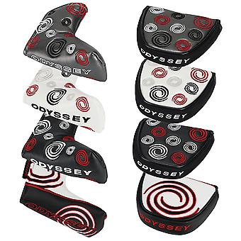 Odyssey Tempest III/Swirl Putter Leather Headcovers Mallet Blade Tour Look