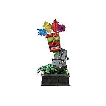Crash Bandicoot Mini Aku Aku Masker Standbeeld